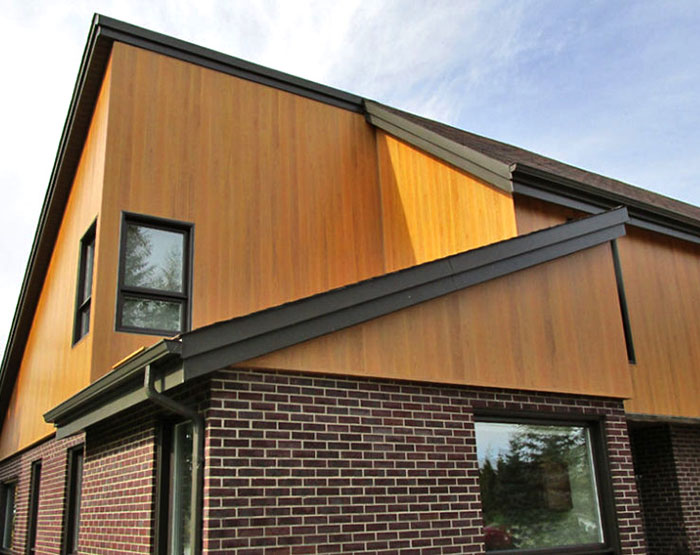 7 Popular Siding Materials To Consider: DIZAL Aluminum Wood Grain Façades