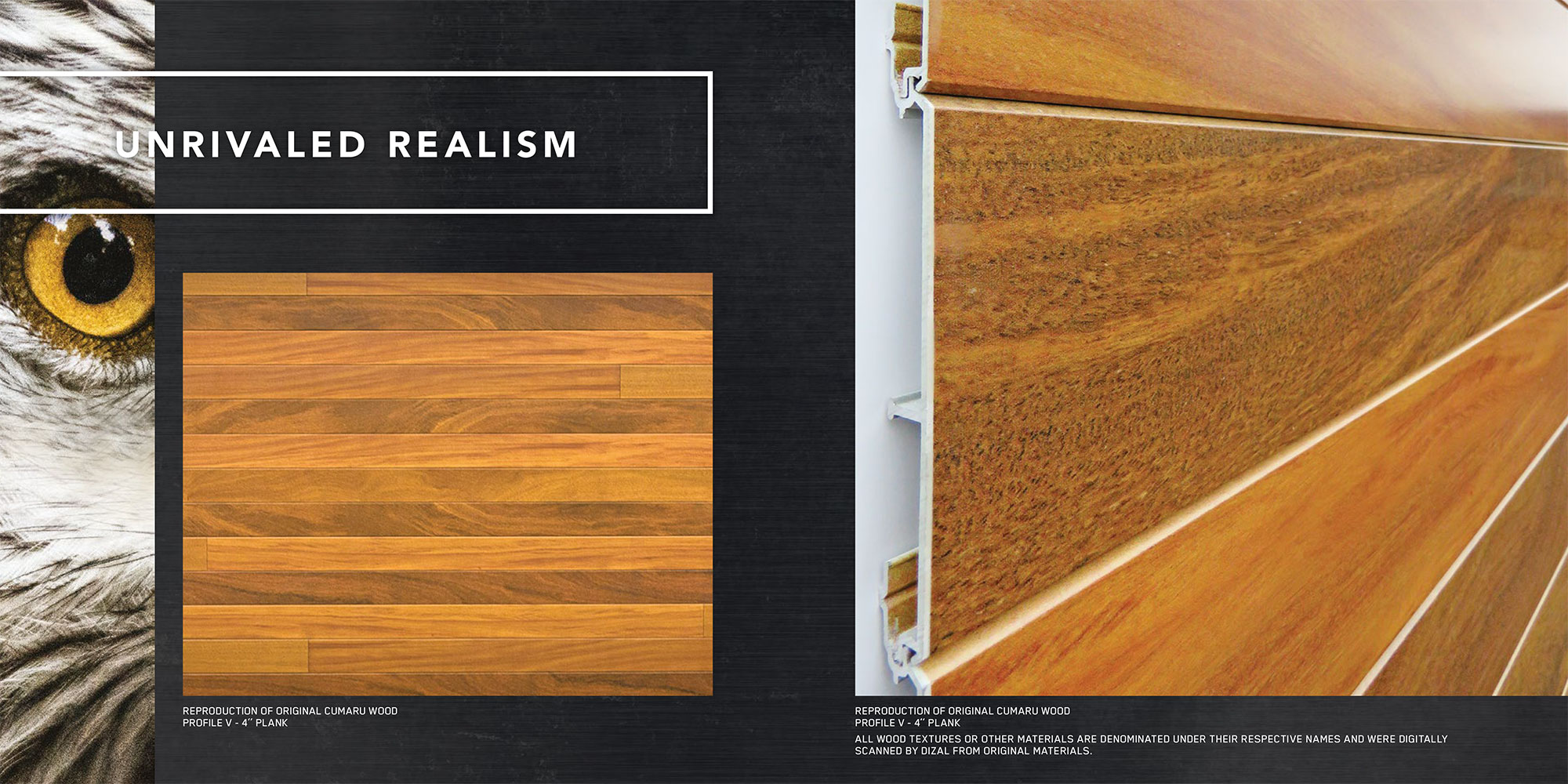 Dizal Wood Aluminum Siding Modern Materials