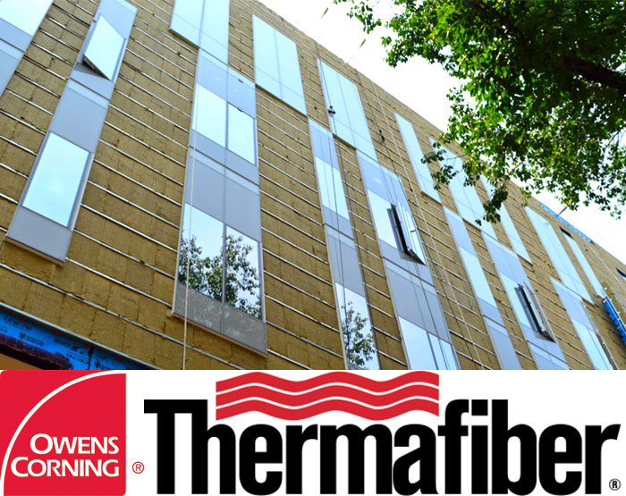 Owens Corning™ Thermafiber® RainBarrier®