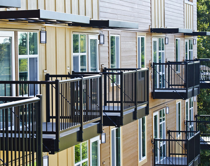American Structures & Design Premium Aluminum Railing, Balcony and Sunshade Systems