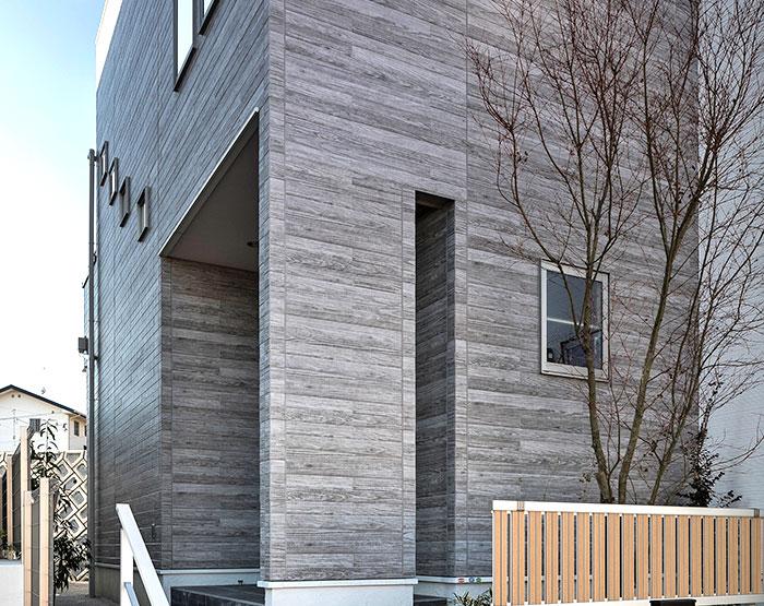 CERACLAD Class A Faux Wood Fiber Cement Façades