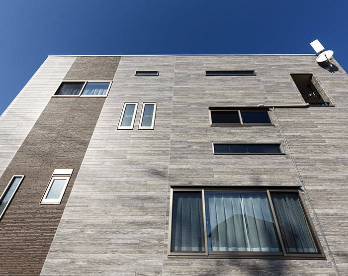 "CERACLAD Class A ""Board Formed"" Faux Wood Fiber Cement Façades"