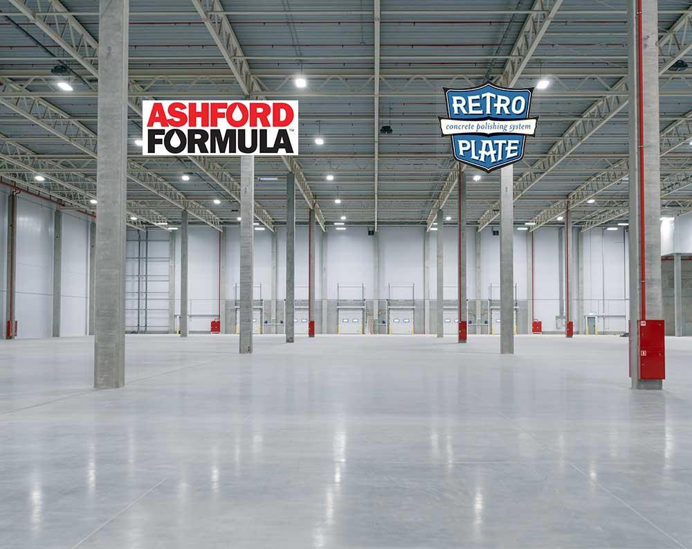 Ashford Retroplate Concrete Polishing Systems
