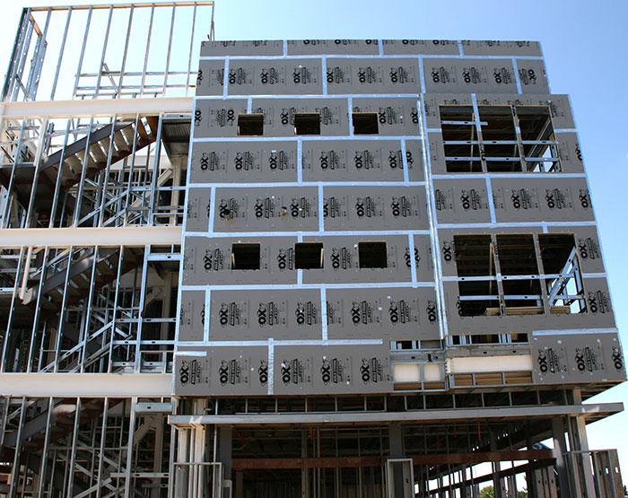 Strong-R structural sheathing