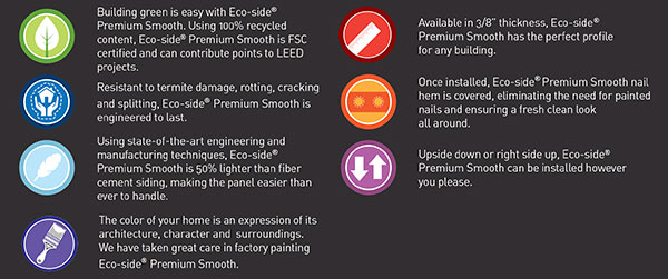 KWP Eco-side Premium Siding