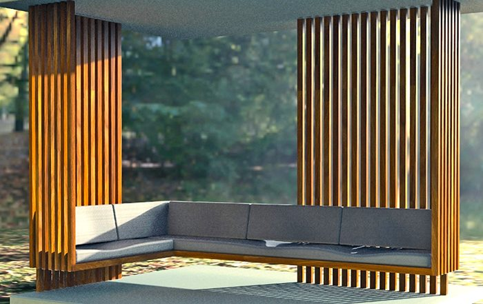 DIZAL Digitally Printed Faux Wood Aluminum Panels, Battens, Decking