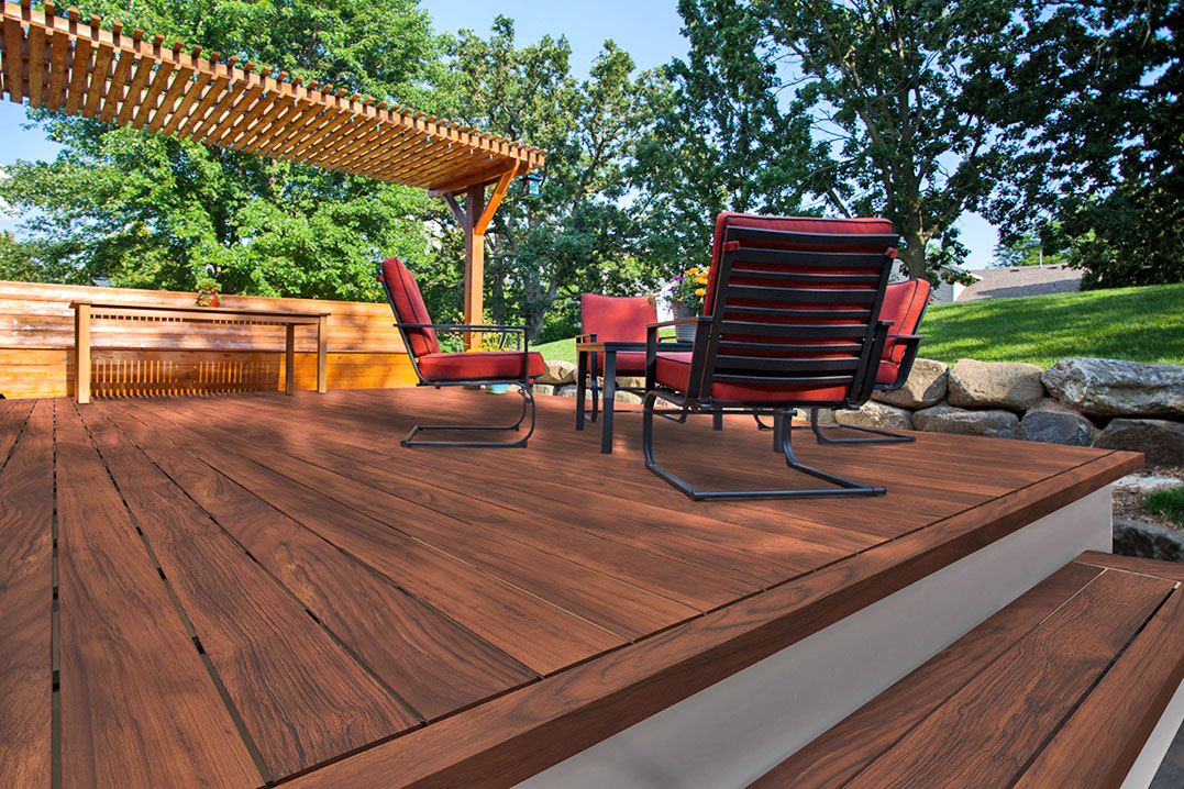 DIZAL Digitally Printed Faux Wood Aluminum Panels, Battens, Decking