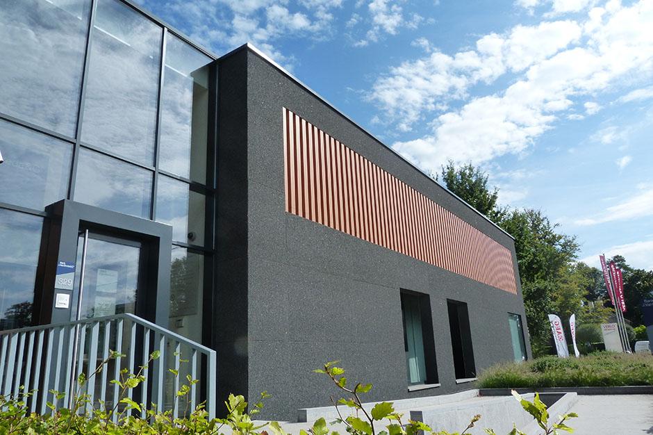 STENI Fiberglass Reinforced Stone Composite Façades