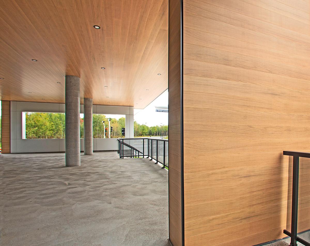 Dizal Premium Aluminum Wood Siding