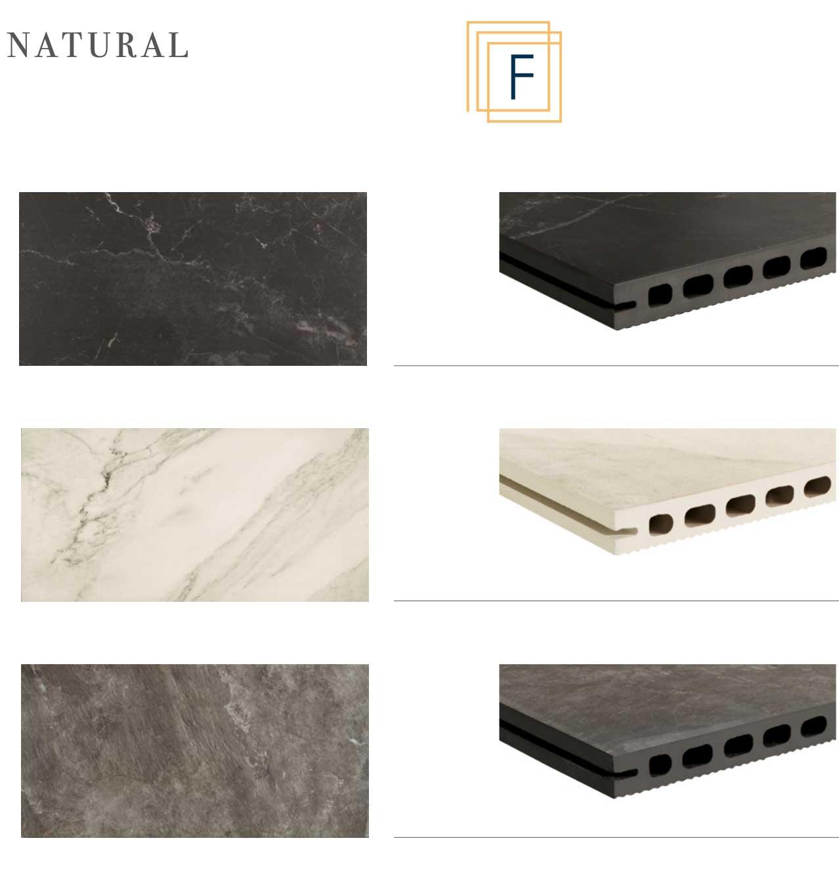 Frontek extruded porcelain panel system