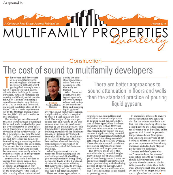 Multifamily Properties Article