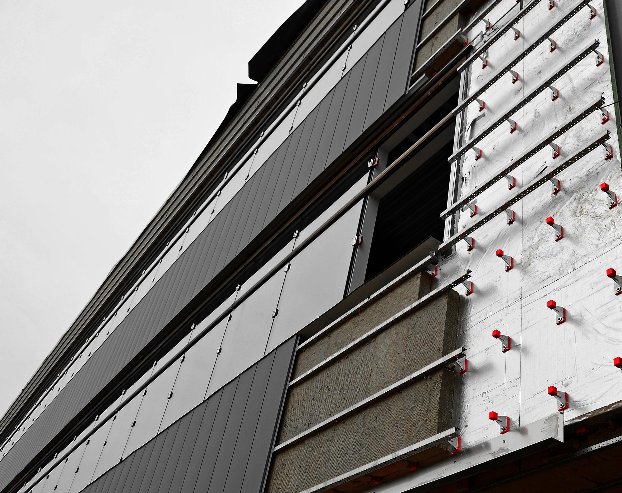 Knight Wall Rainscreen Attachment Systems Modern Materials Denver