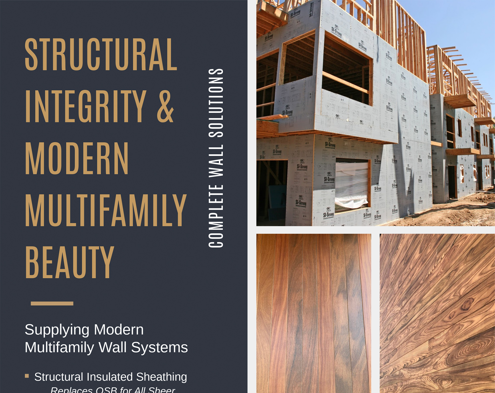 Structural Integrity and Modern Materials Multifamily Beauty