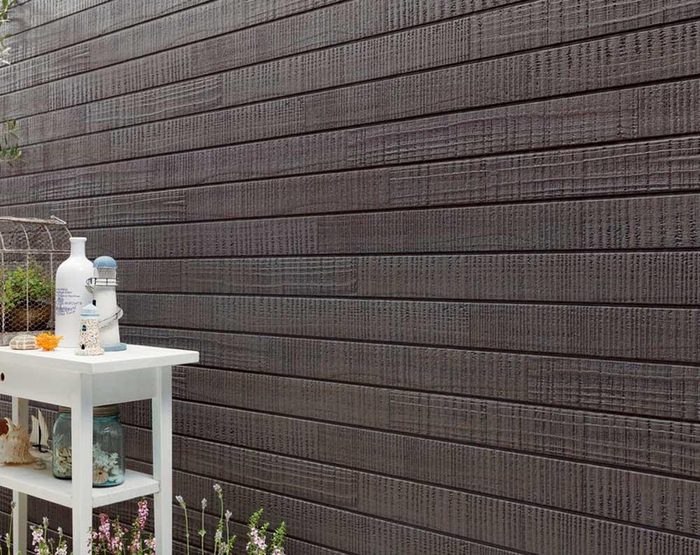 Ceraclad Yakisugi Faux Wood Panels
